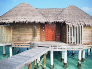 【憧れの水上コテージ!】モルディブのホテル コンスタンス ハラヴェリの客室のご紹介